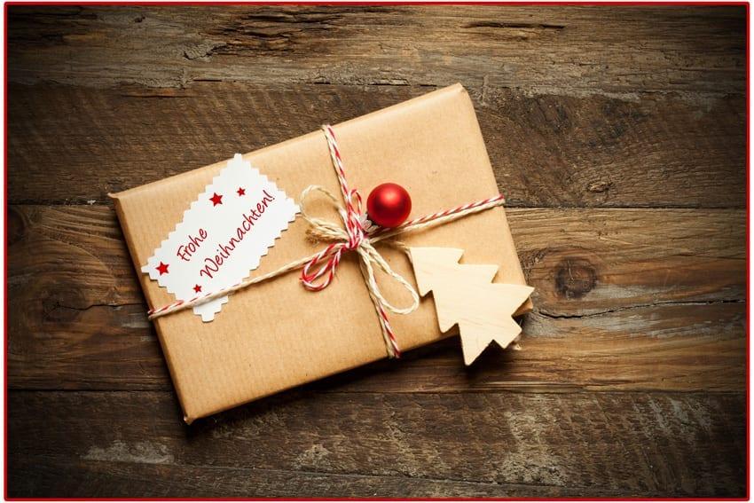 Weihnachtsgeschenk Karte Motion Media