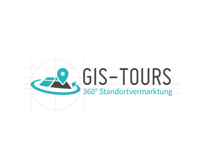 GIS-Tours Logo Corporate Design Osnabrück