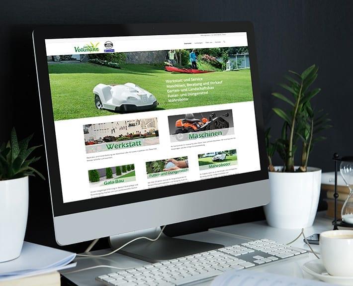 Webdesign Garten Volkmann