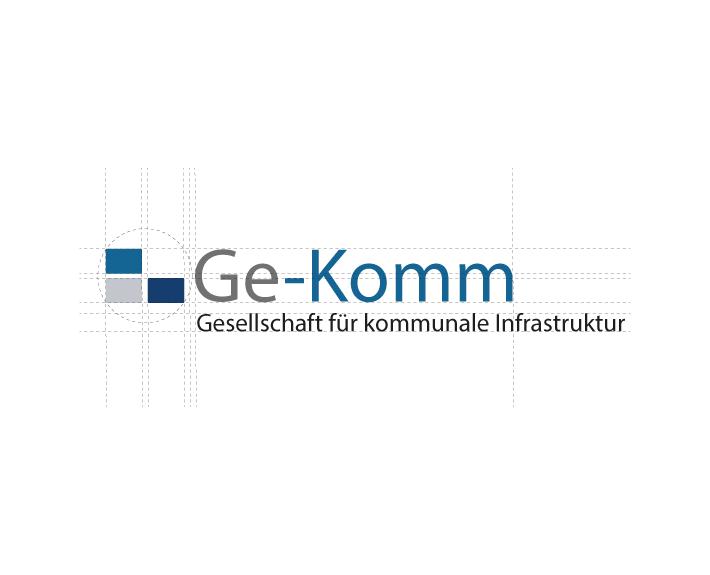 Ge-Komm Logo Corporate Identity Osnabrück