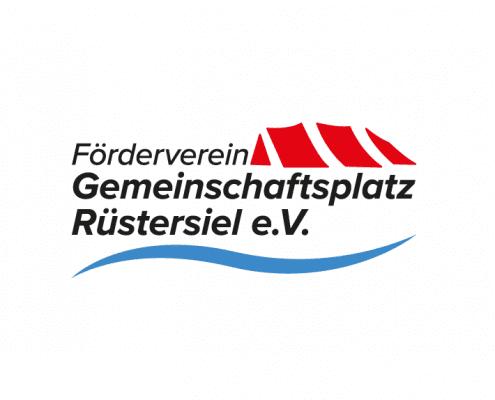 Gemeinschaftsplatz Ruestersiel Logo Corporate Design Osnabrück