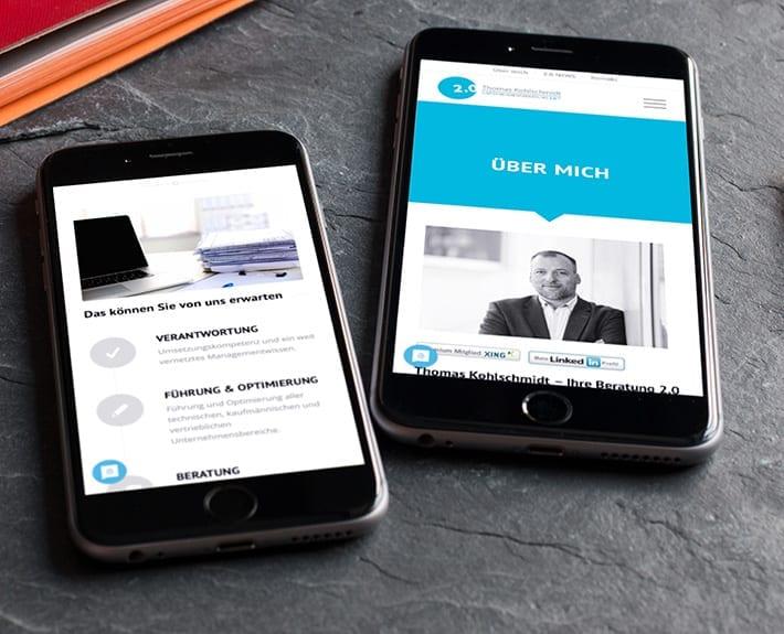Mobiledesign Thoma Kohlschmitt | Unternehmensberatung 2.0