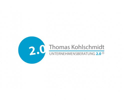 Unternehmensberatung 2.0 Logo Corporate Identity Osnabrück