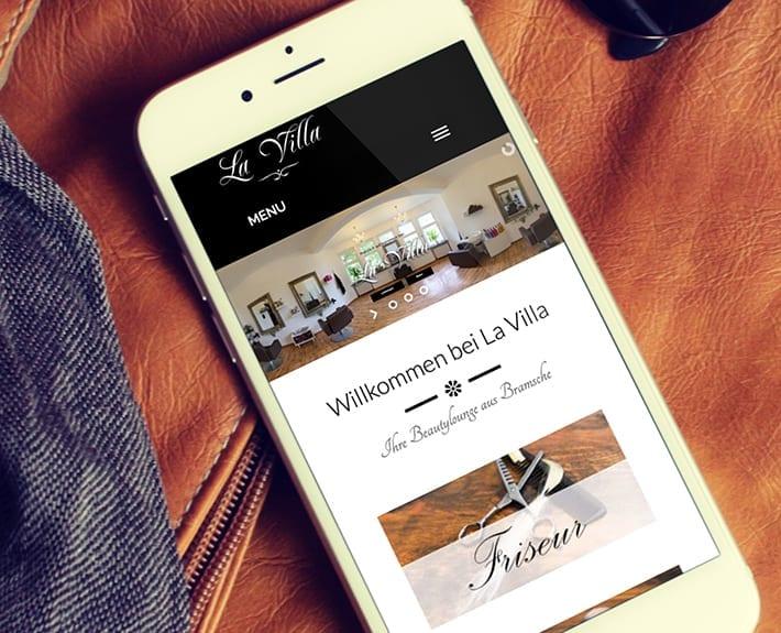 Responsive Design La Villa