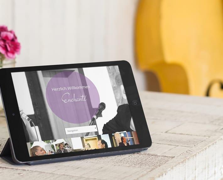 Responsive Webdesign Tablet Osnabrück Enchante