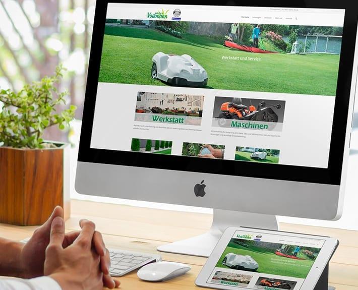 Responsive Webdesign Osnabrück Garten Volkmannx