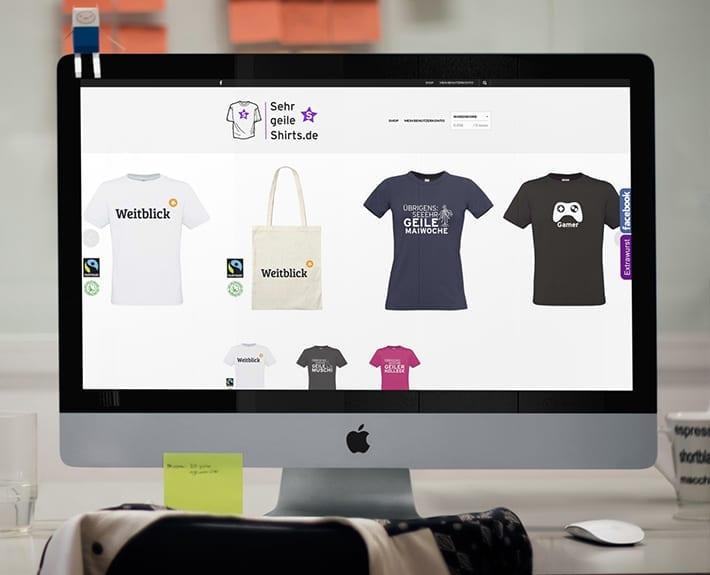Webshop Responsive Webdesign Osnabrück Geileshirts