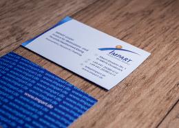 Impart Visitenkarte Corporate Identity Osnabrück