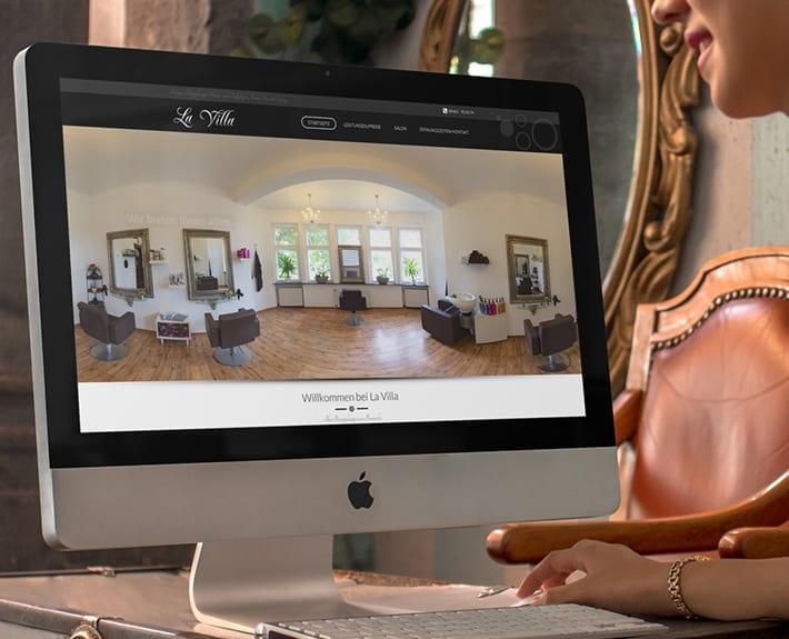 webseite la villa bramsche motion media werbeagentur aus osnabr ck. Black Bedroom Furniture Sets. Home Design Ideas