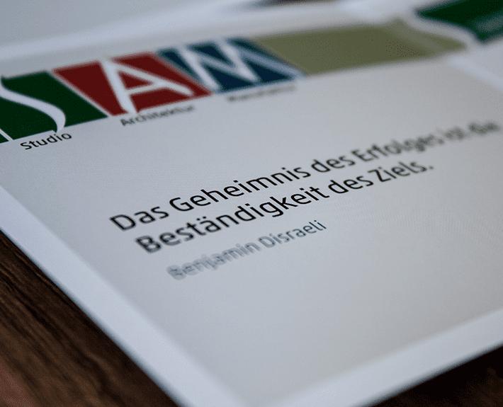 Speckemeyer Dankeskarte bedrucken lassen Osnabrück