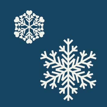 Motion Media Schneeflocke zur Weihnachtsaktion