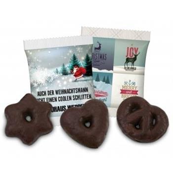 Werbeartikel Weihnachten Motion Media Lebkuchen
