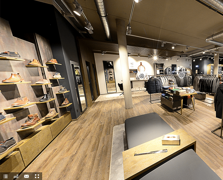 Virtuelle Tour 360 Osnabrück Bugatti Concept Store