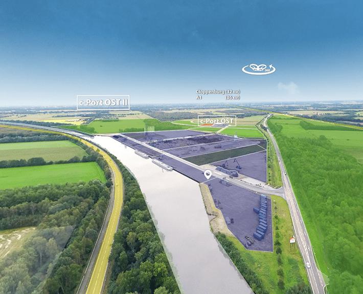 c-port Virtuelle Tour 360 Osnabrück
