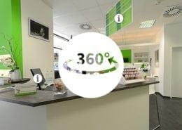 Virtuelle 360° Tour Freshnails Osnabrück