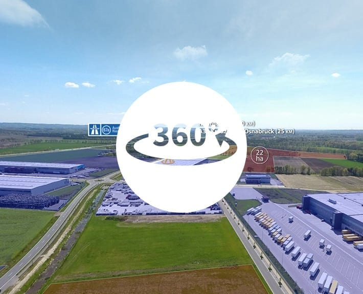 Virtuelle Tour 360 Osnabrück Niedersachsenpark
