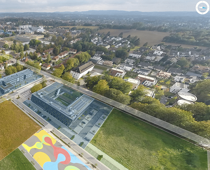 Wissenschaftspark Virtuelle Tour 360 Osnabrück