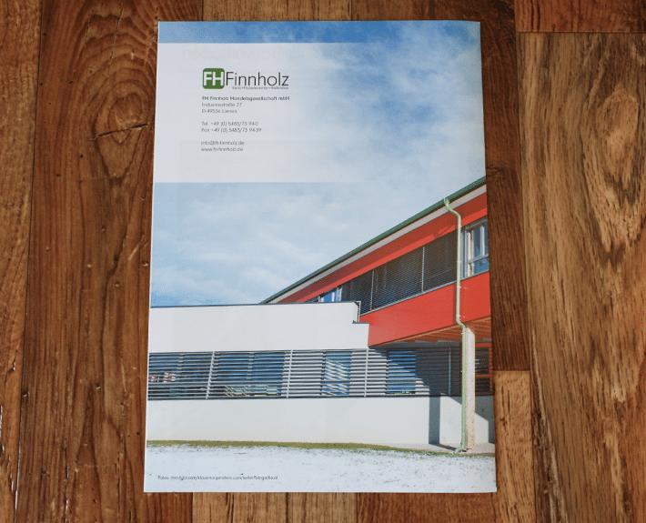FH Bau Folder Flyergestaltung Osnabrück