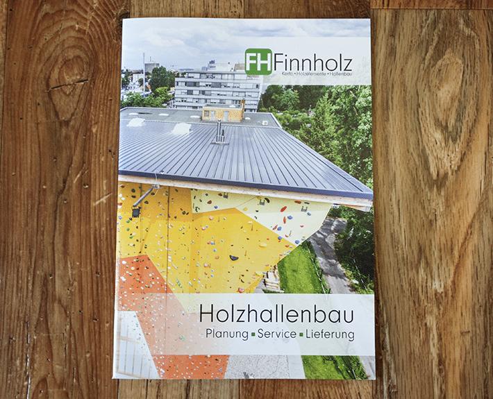 Broschüre Osnabrück FH Finnholz