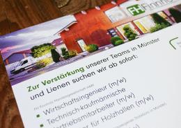 FH Finnholz Anzeige Osnabrück