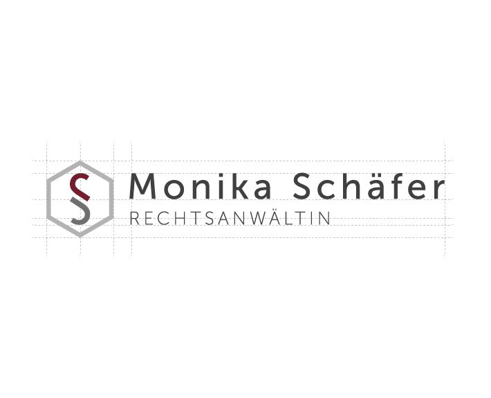 Monika Schäfer Logo Corporate Design Osnabrück
