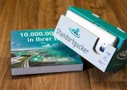 GIS-Tours VR-Brille Werbemittel bedrucken Osnabrück