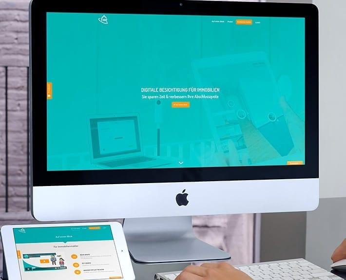 ImmoTours Responsive Webdesign Osnabrück