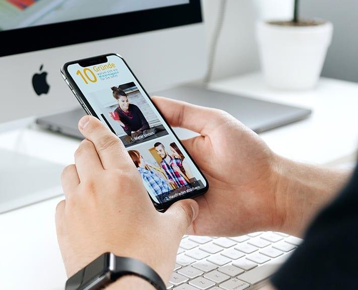 Webdesign Mietermagazin