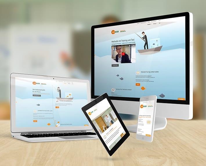 Responsive Webdesign Nutbaser