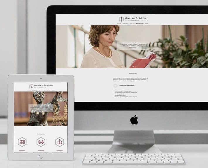 Monika Schäfer Responsive Webseite Webdesign Osnabrück