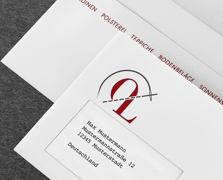 Overbeck Leidig Briefumschlag Geschäftsausstattung Osnabrück