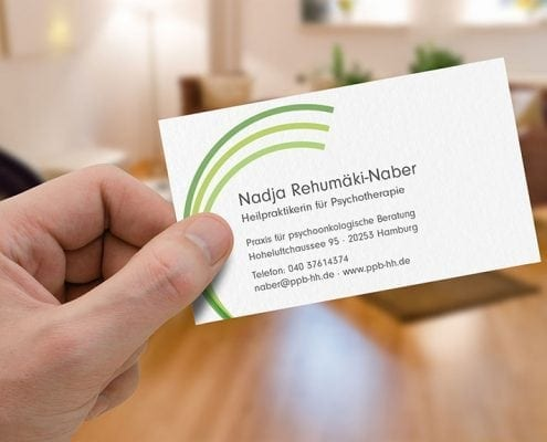 Nadja Rehumäki Visitenkarte Corporate Design Osnabrück