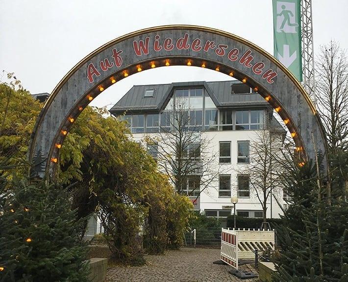 Weihnachtsmarkt Bogen Rückseite Werbetechnik Osnabrück
