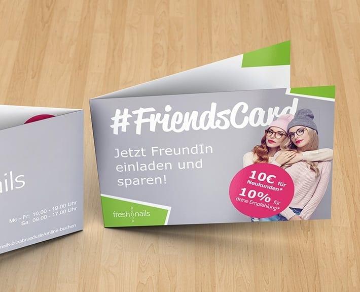 freshnails Friendscard Treuekarte