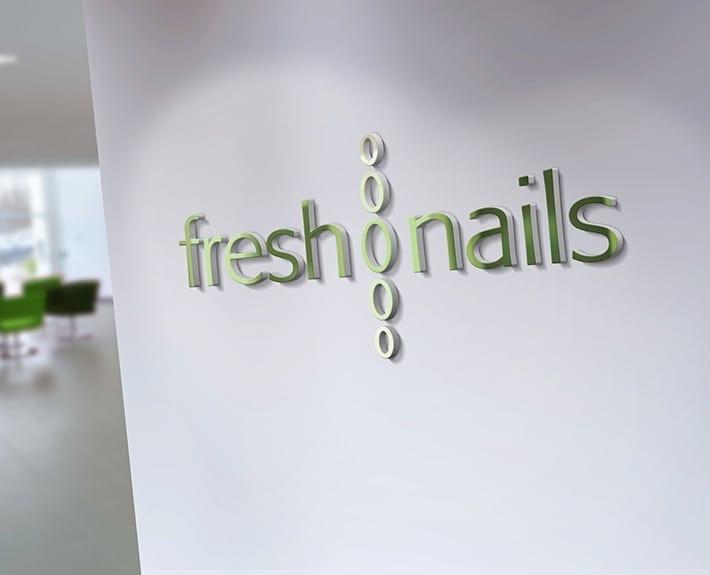 freshnails Logo Corporate Design Osnabrück