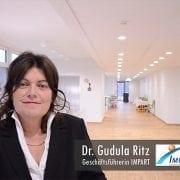 Dr. Gundula Ritz Geschäftsführerin IMPART