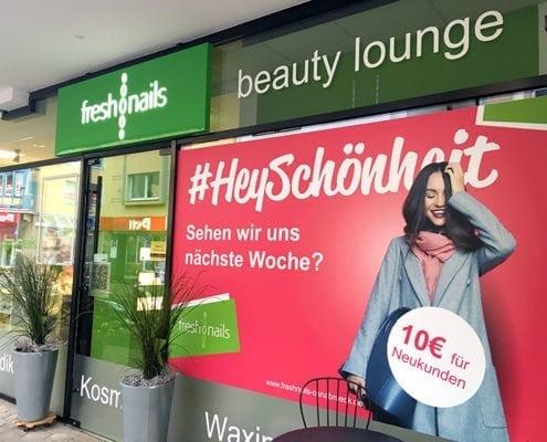 freshnails Schaufensterbeklebungen Plakatwerbung Osnabrück