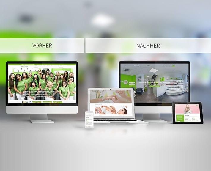 Webseite Relaunch Freshnails Osnabrück