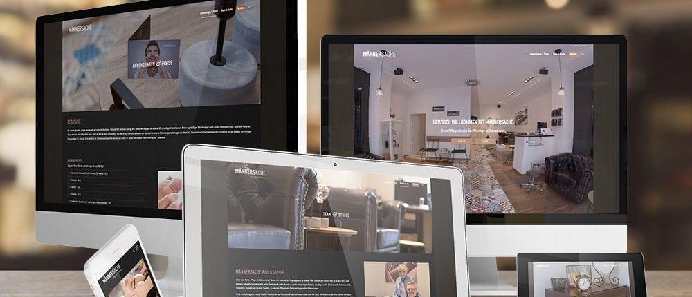 Responsive Website Männersache Osnabrück