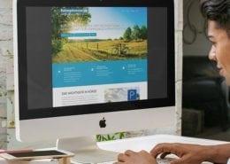 Responsive Webdesign Radwegekonzepts