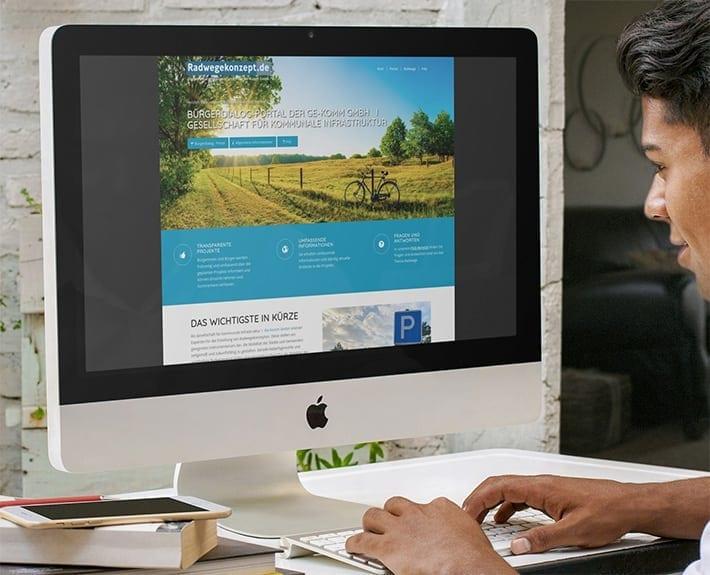 Radwegekonzepte Responsive Webdesign Osnabrück