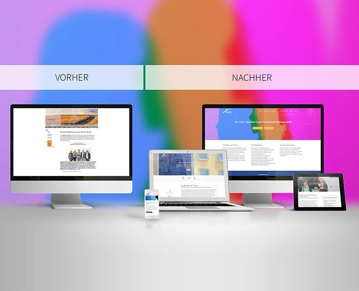 Webseite Relaunch IMPART