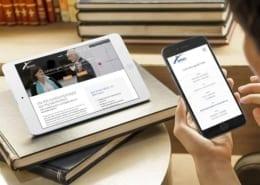 Responsive Webdesign Mobiledevice IMPART