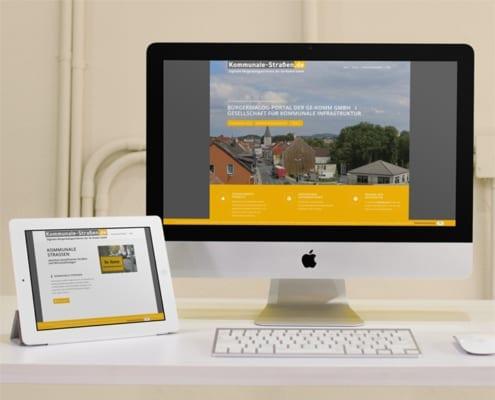 kommunale Straßen Responsive Webdesign Osnabrück