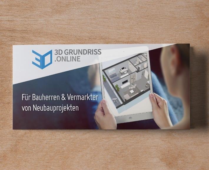 3DGrundriss.online Folder Flyergestaltung Osnabrück