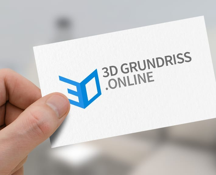 3DGrundriss.online Logo Corporate Design Werbeagentur Osnabrück