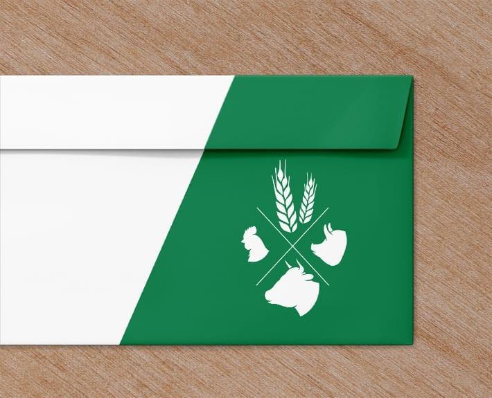 AMW Briefumschlag Briefbogen Geschäftsausstattung