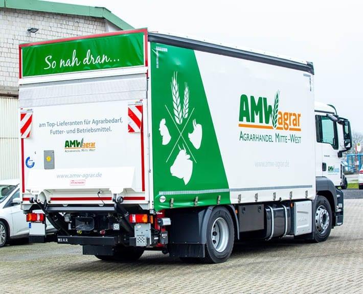 AMW Fahrzeugbeschriftung LKW Osnabrück