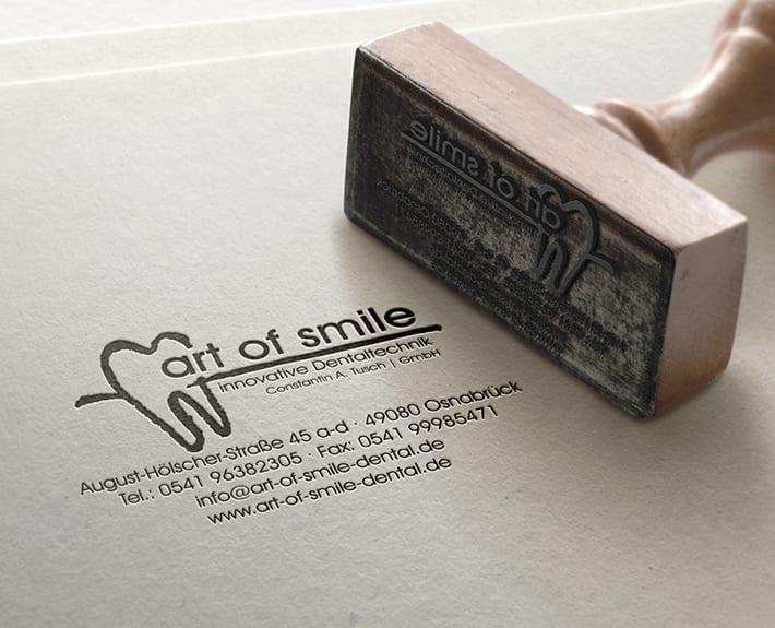 Stempel art of smile