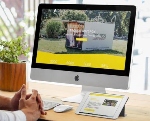 Tronos Advergy Responsive Webdesign Osnabrück